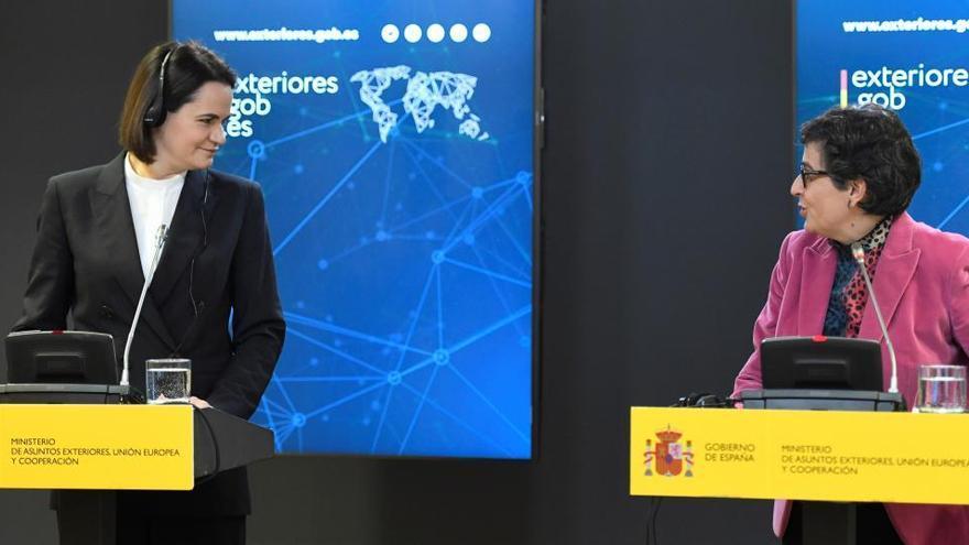 España ayudará a la oposición bielorrusa en la 'transición' del país