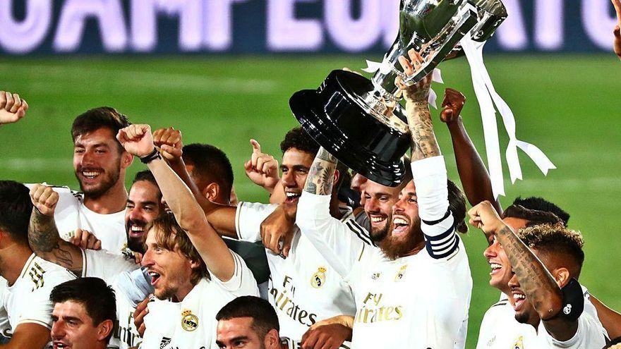 "Zidane se aferra a ""su"" Liga"