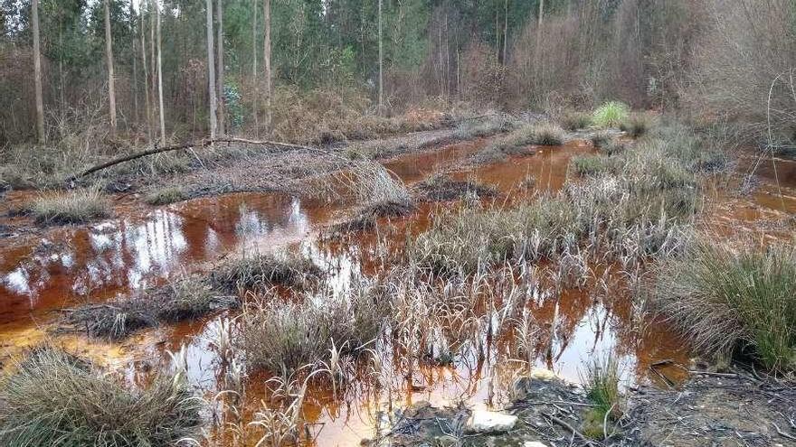 La Xunta expedienta a la minera de Touro por un nuevo vertido a un afluente del Ulla