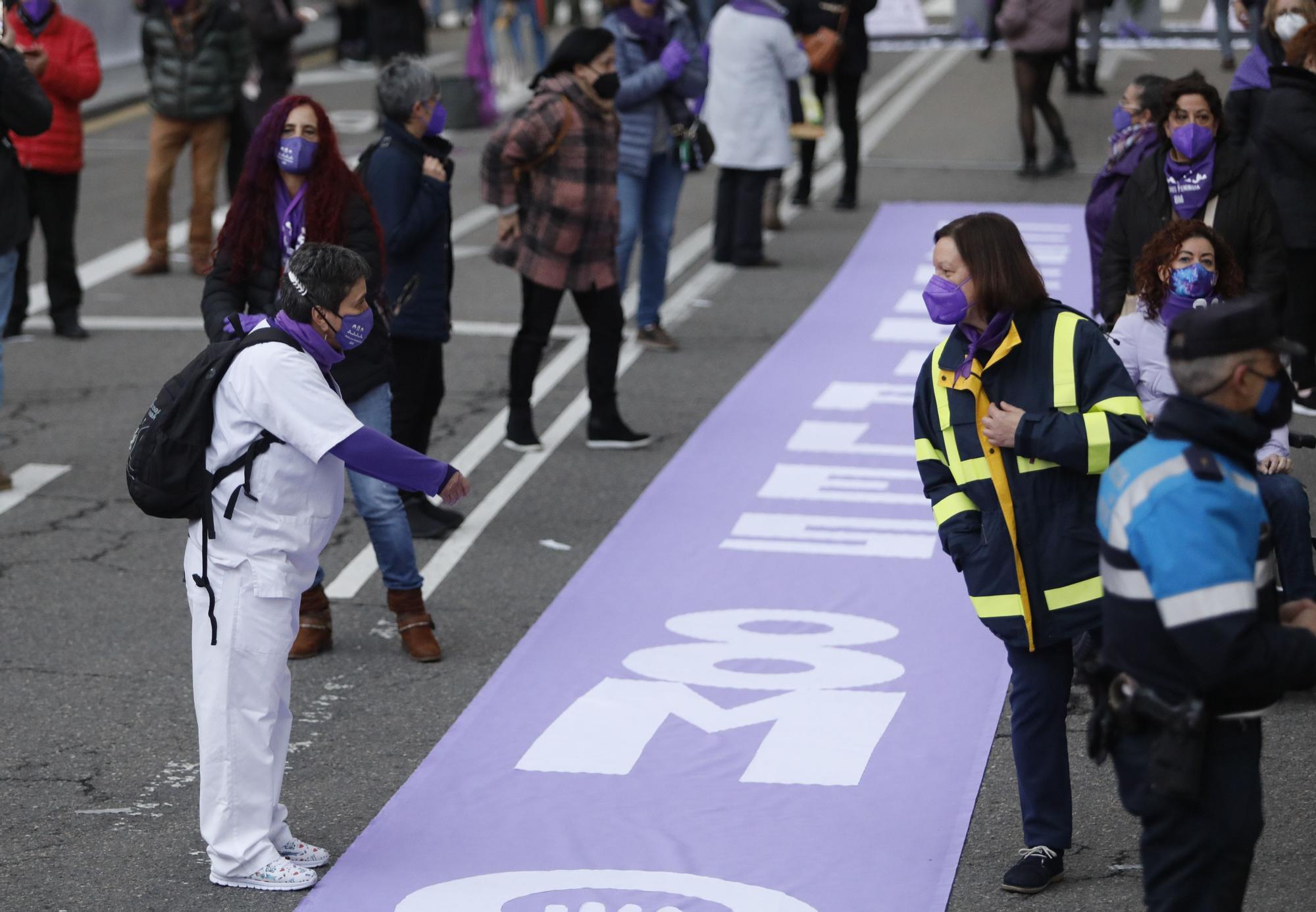 Manifestación del 8M en Oviedo