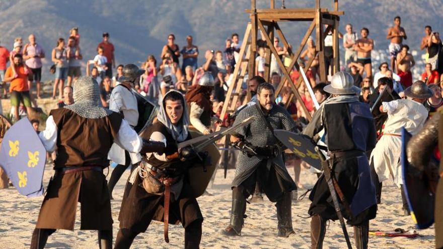 El desembarcament del rei Jaume I enceta demà el Terra de Trobadors a Castelló