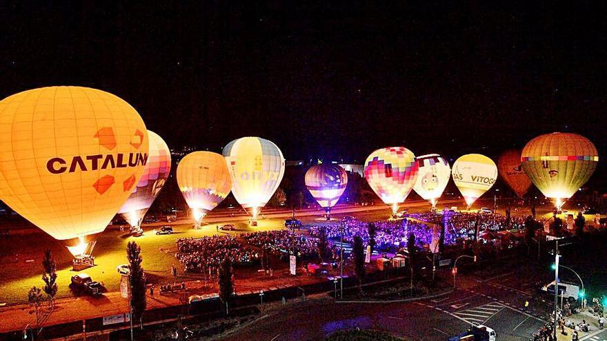 Els globus donen aire a la Conca d'Òdena