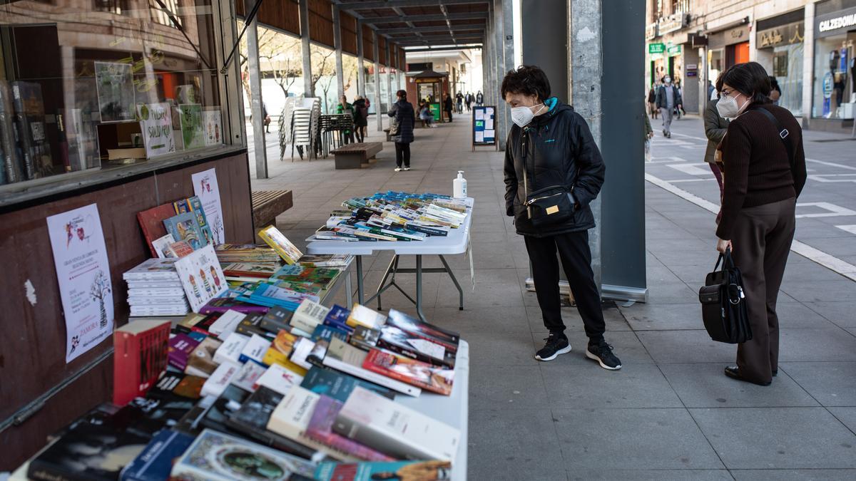 Venta de libros de segunda mano en pro de las enfermedades raras