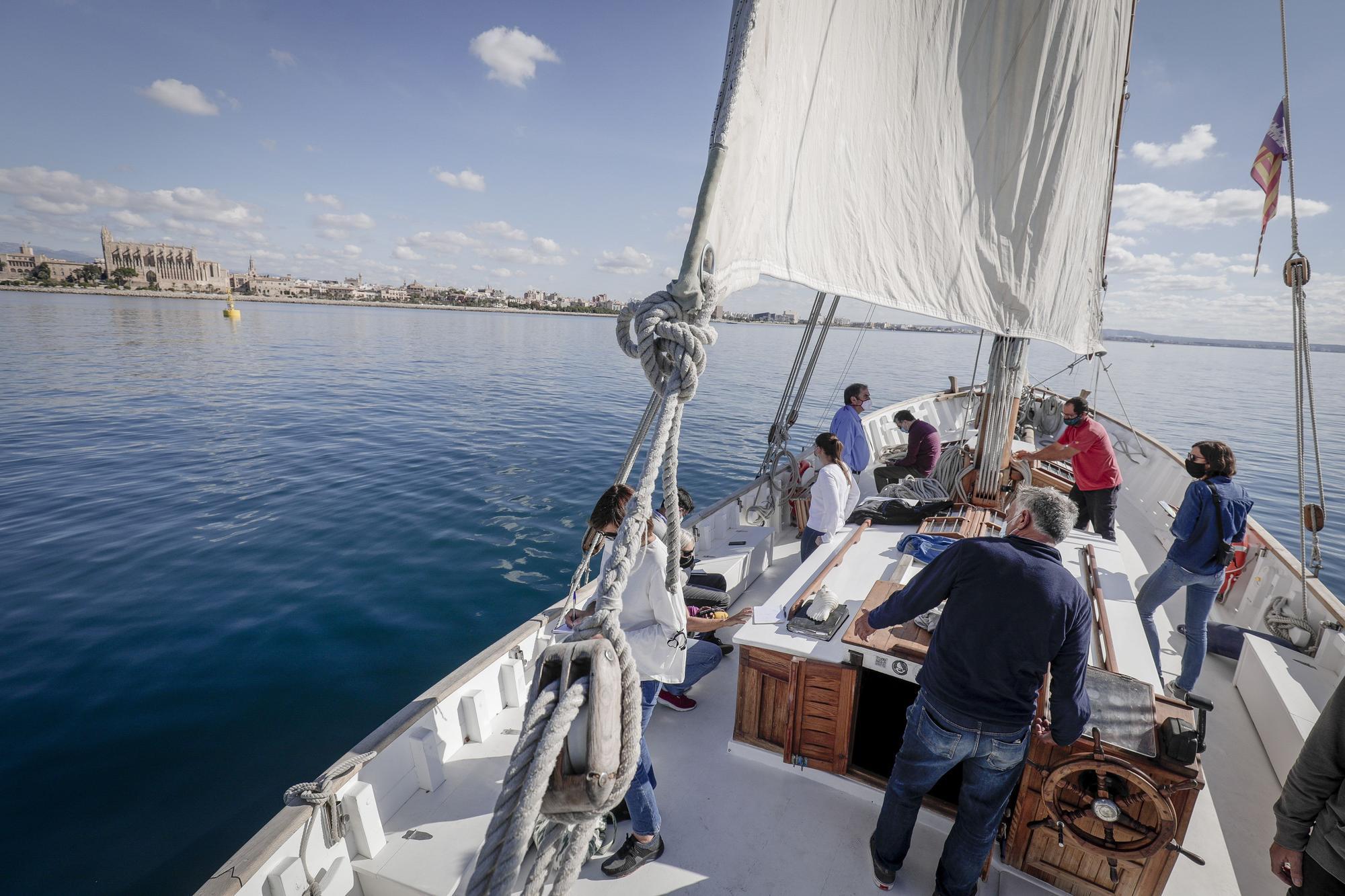 ¿Quieres navegar a bordo de la Balear por la bahía de Palma