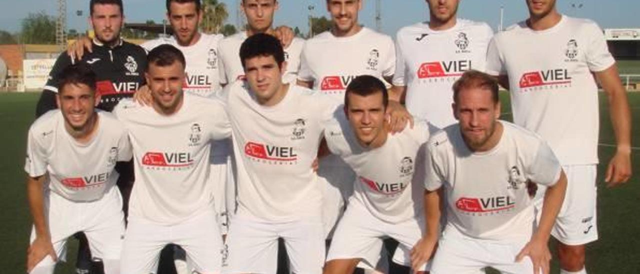 Once inicial planteado por la Sociedad Deportiva Sueca en la presente temporada.