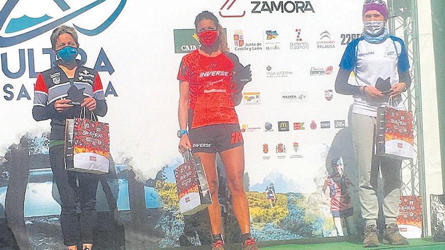Àngels Llobera gana el   GP Diputación de Zamora