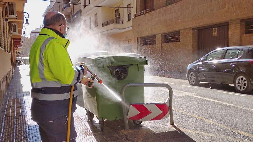INICIATIVAS | El 97 % de los vecinos de Aldaia están a favor de desinfectar las calles a diario el resto del 2021