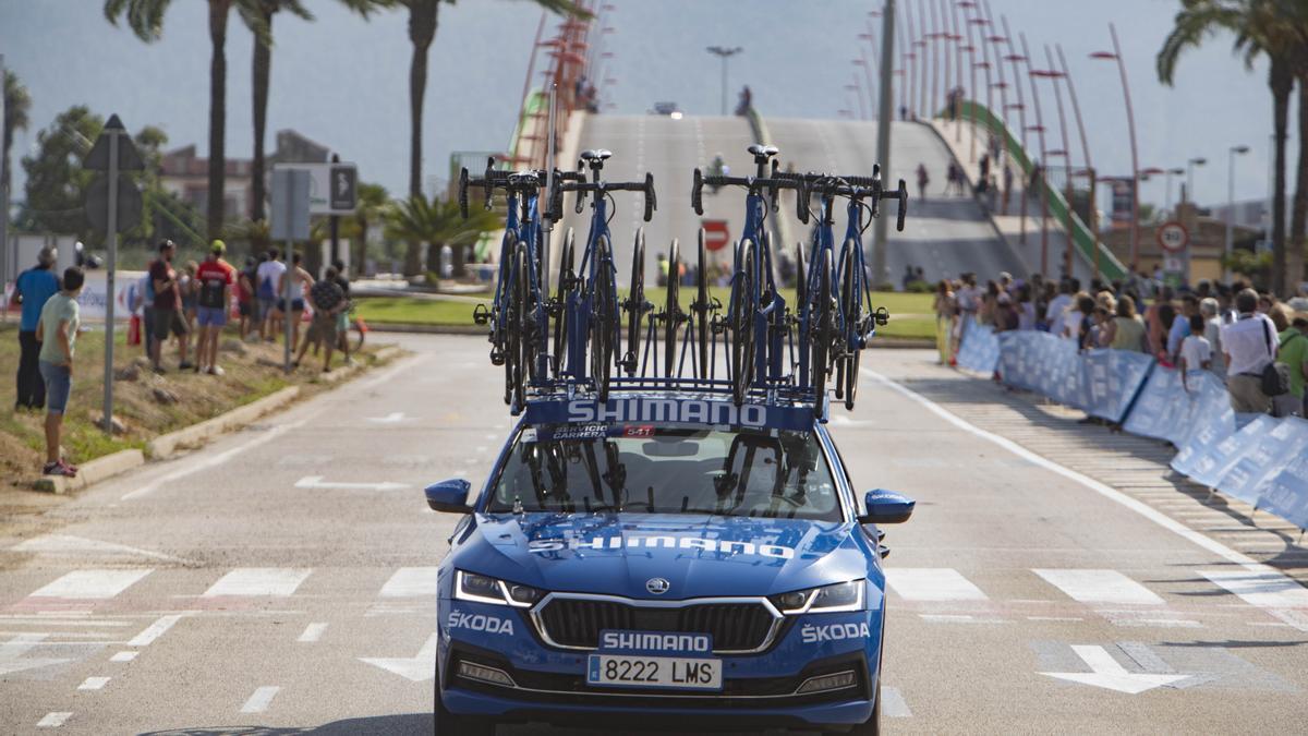 Paso de La Vuelta 2021 por València