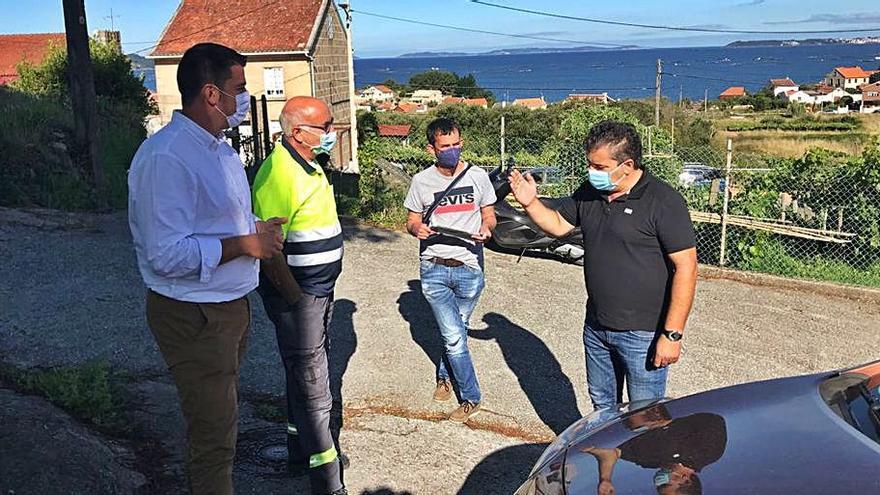 El Concello de Marín renueva en Malvido 71 luminarias y añade 18 nuevos puntos de luz