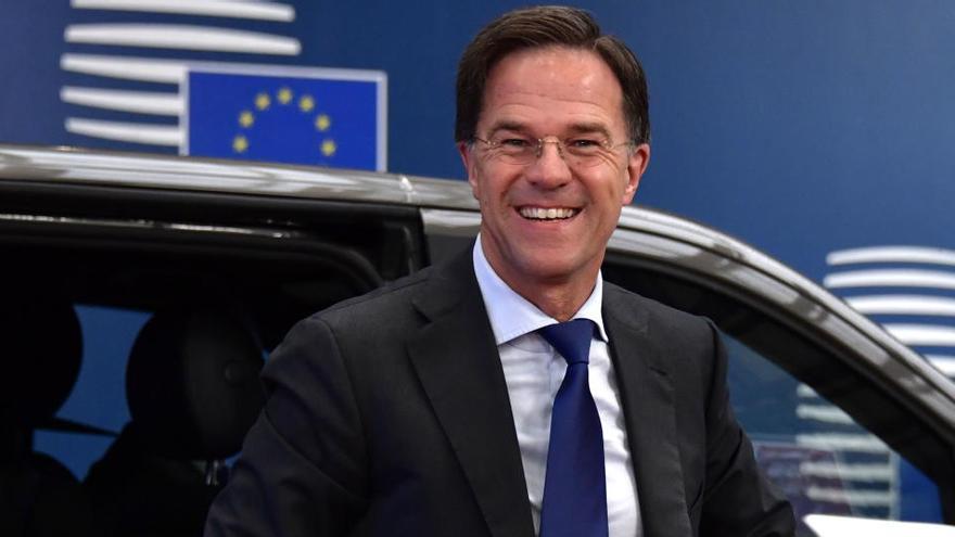 """Rutte exige a España un """"compromiso"""" de reformas"""