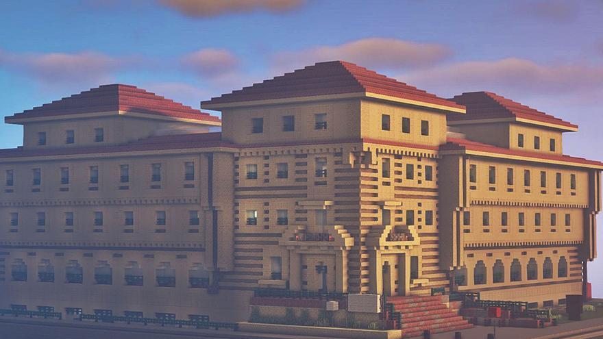 """El campus de Los Catalanes abre """"sucursal"""" en """"Minecraft"""""""