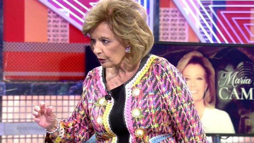 "María Teresa Campos, a punto de abandonar el 'Deluxe': ""¡Yo no he venido a esto!"""