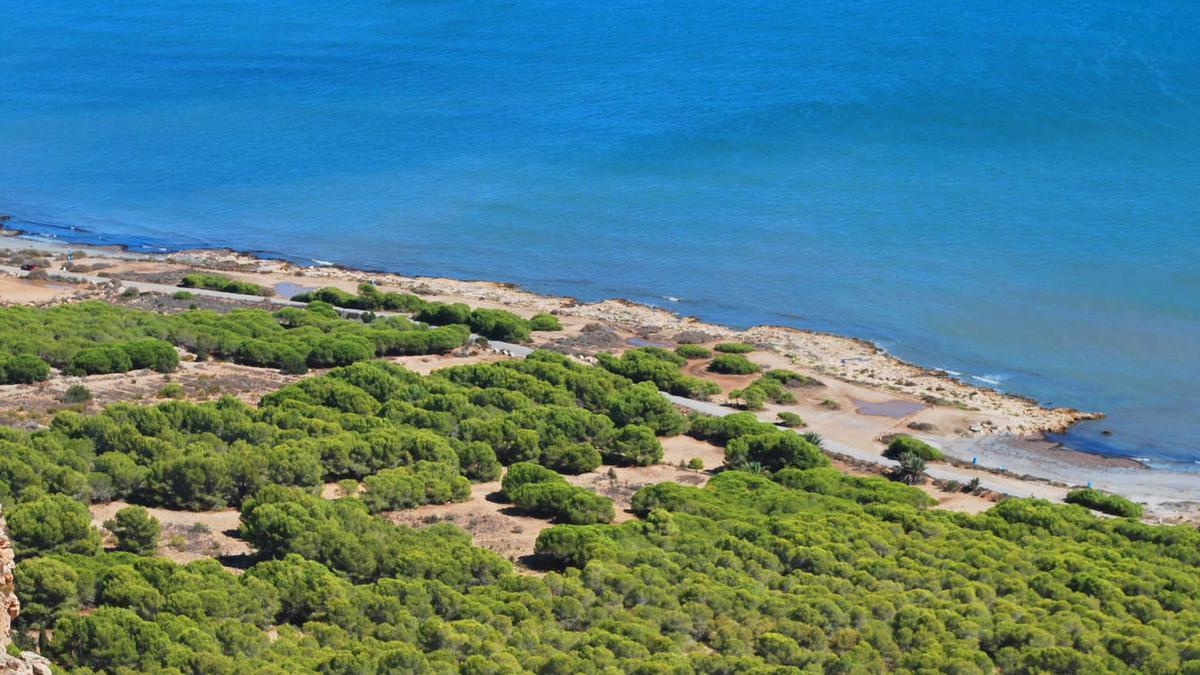 Calas del Cabo de l'Aljub (Santa Pola)