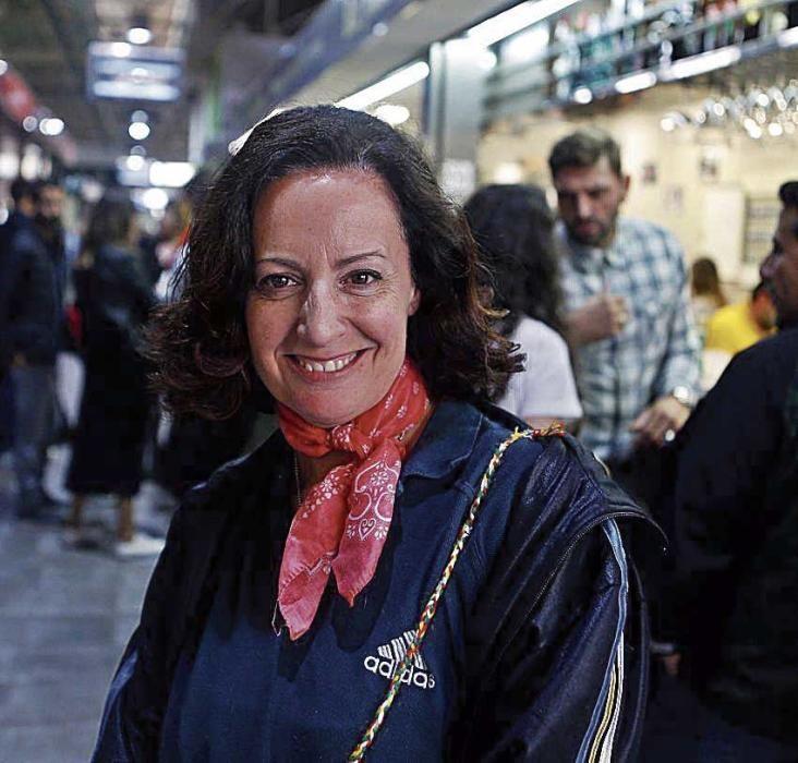 Francisca Lagartera, en Can Frau, votará en blanco.