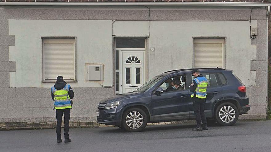 La Policía Local de Vilagarcía tramitó 315 denuncias durante el estado de alarma