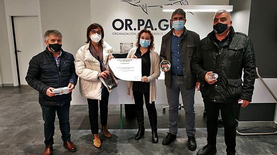 Maica Larriba felicita a Orpagu por su reciente Premio de Alimentos de España