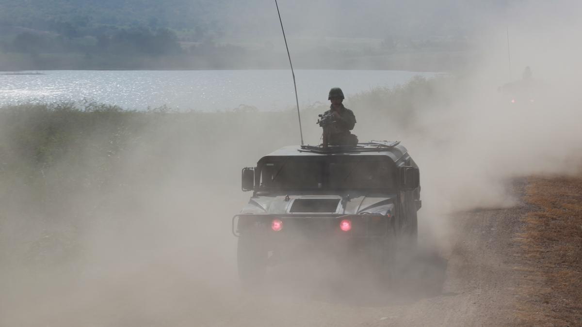 Zona de conflicto en Afganistán.