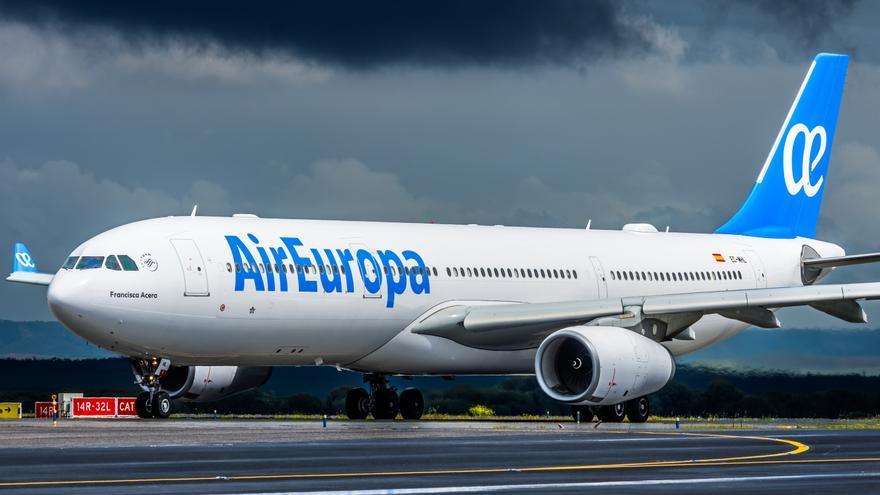 Air Europa refuerza su programación de verano con un aumento de vuelos a Canarias