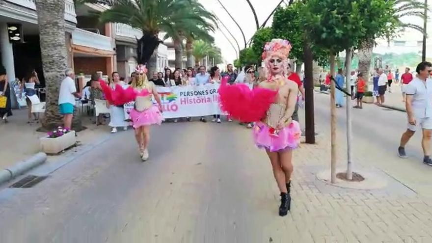 Orgullo LGTBi por las calles de Moncofa