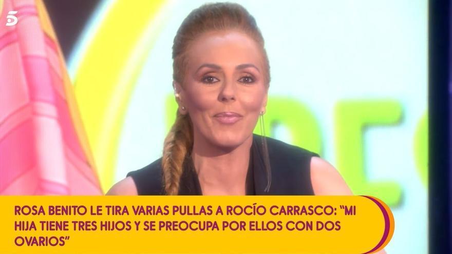 "Rocío Carrasco lanza una advertencia a Rosa Benito: ""Que se espere a otoño"""