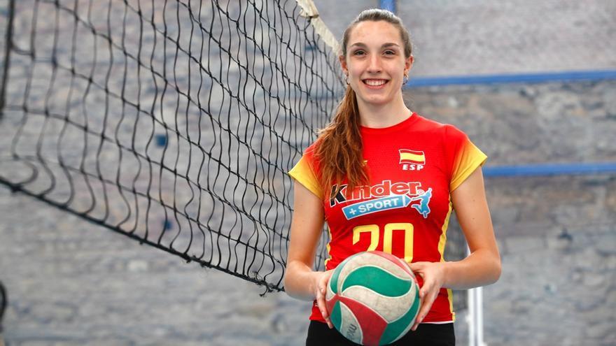 Raquel Montoro lidera el bronce de España en la Liga Europea de voleibol