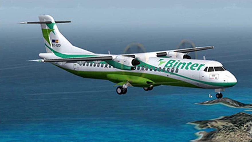 Binter saca a la venta billetes desde 23 euros para volar a la Península y Baleares