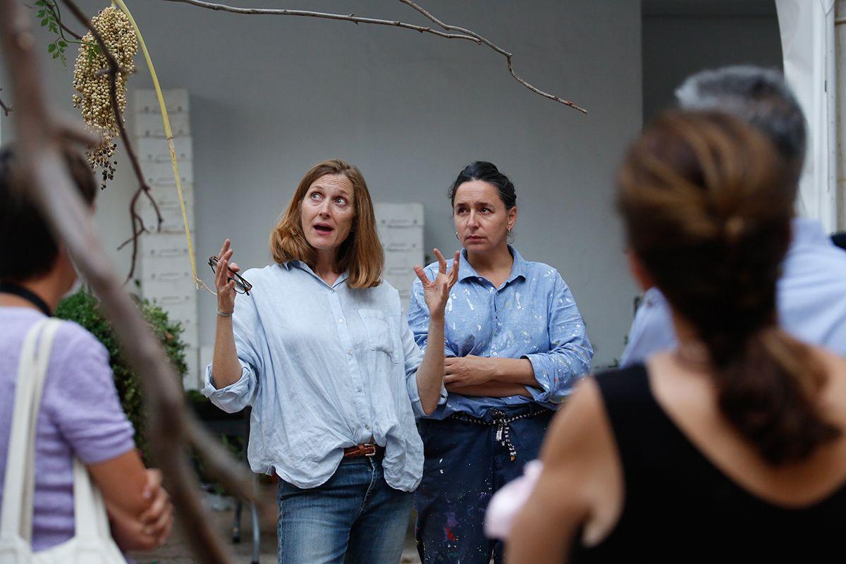 En el Arqueológico Inés Urquijo  y Nuria Mora explican el significado de su creación