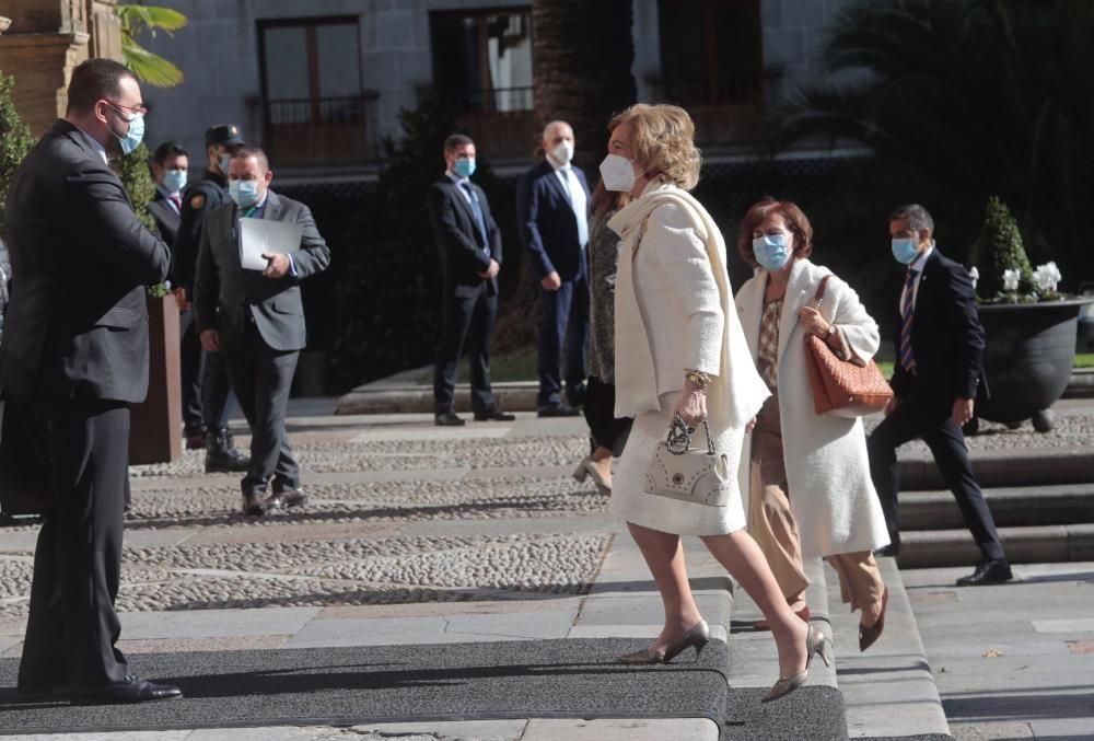 Premios Princesa de Asturias 2020 | Llegada de los invitados al Hotel de la Reconquista