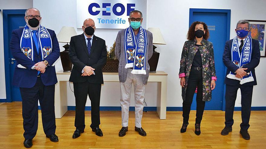 CEOE colabora  en el centenario