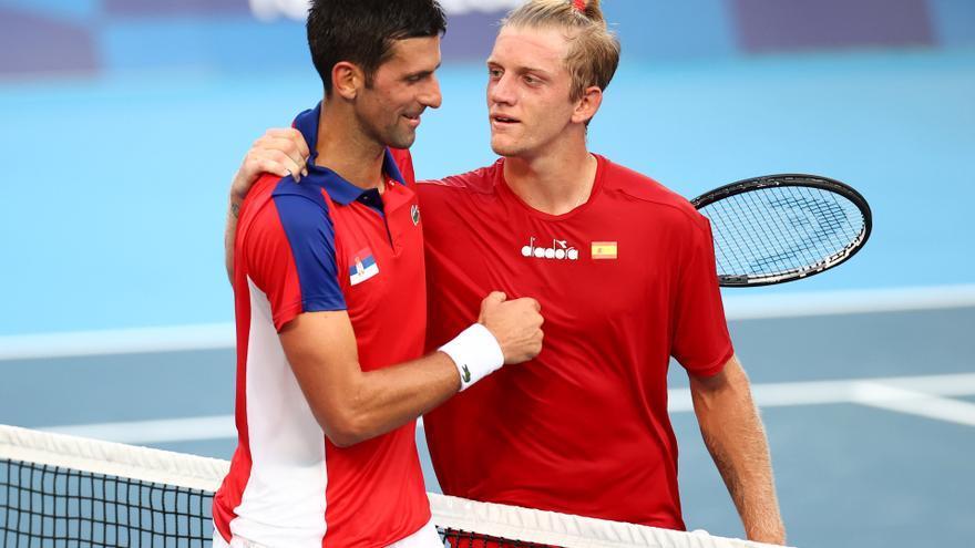 Djokovic acaba con las aspiraciones de Davidovich