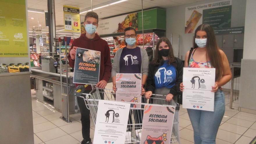 La Protectora de Animales de Burjassot convoca una jornada de recogida de alimentos