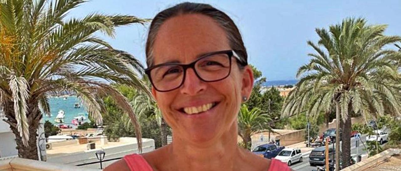 Susana Labrador, consellera de Cultura de Formentera.   C.C.