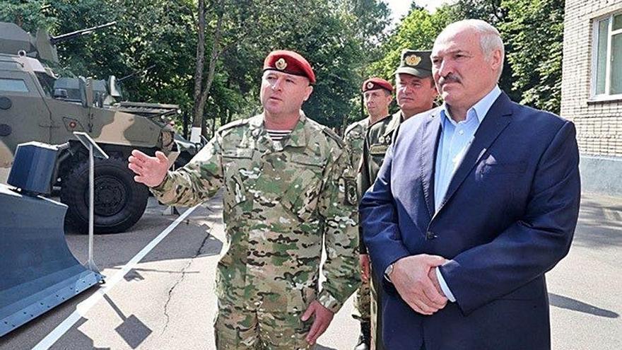 Lukashenko cesa al embajador en España por criticar la represión