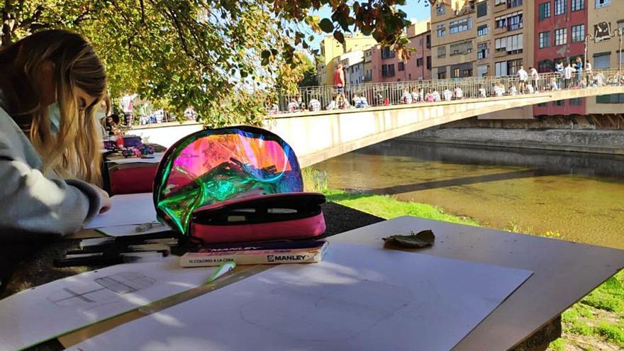 Torna a Girona el 47è Concurs de Pintura Ràpida del GEiEG