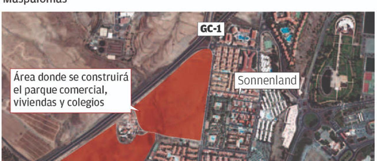 El inicio de las obras del parque comercial de El Hornillo está previsto para abril