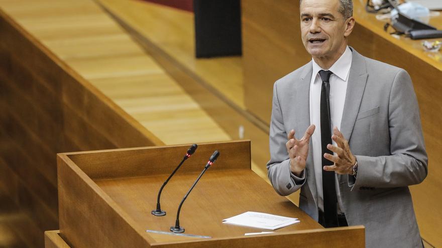 Cantó insiste en exigir la dimisión de Bernabé Cano pero no ve peligrar el pacto PP-Cs en la Diputación