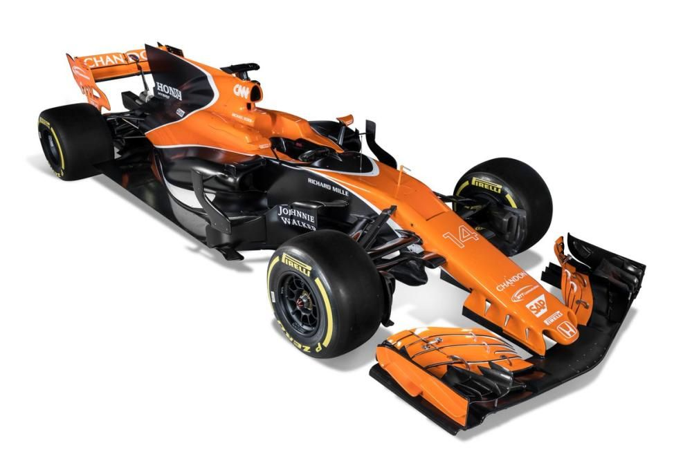 El nuevo monoplaza de Fernando Alonso.