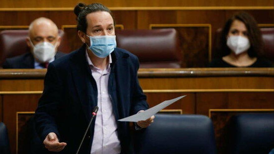 Iglesias abandona el govern per ser candidat a la presidència de la Comunitat de Madrid
