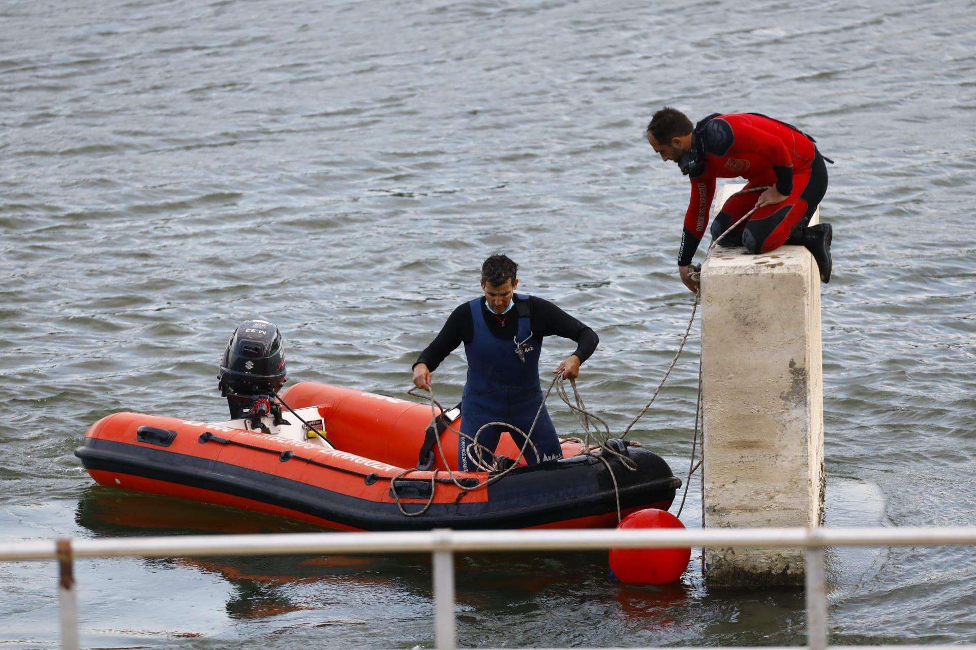 La policía y los bomberos buscan a un niño desaparecido en el Ebro