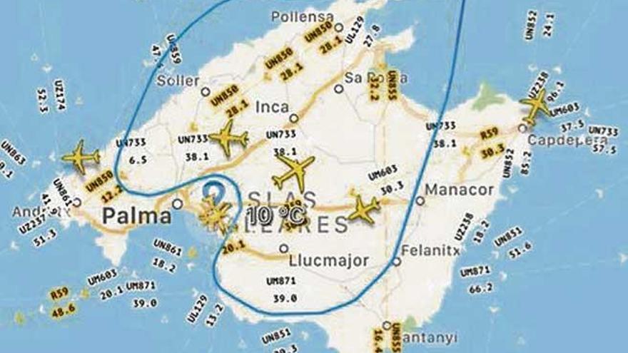 Aterriza en Palma  el primer avión  de Thomas Cook