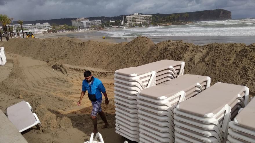 """Compromís reclama en el Senado que la costa sea calificada como """"zona catastrófica"""" y pide medidas urgentes"""