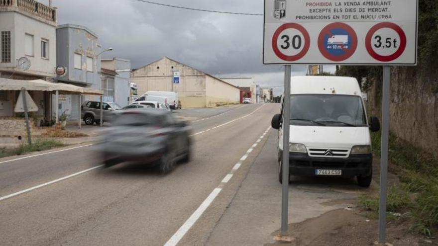El 83 % de los conductores de L'Alcúdia de Crespins supera la velocidad legal