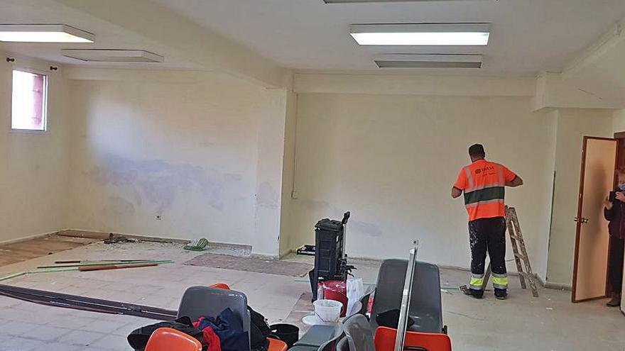 Nuevo Gijón remoza su sede vecinal