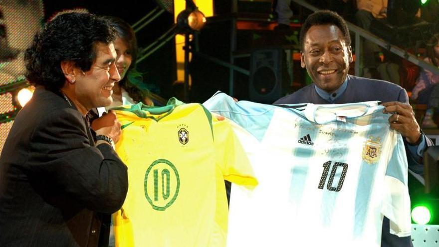 Un uruguayo le asignó, por azar, el número 10 a Pelé