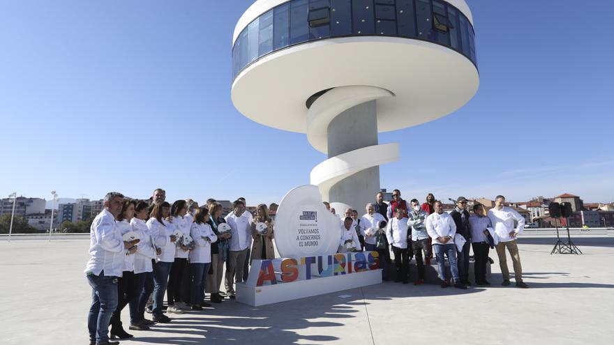 """Celebración del """"Día de la hostelería"""" en Avilés"""