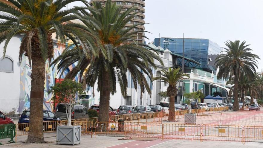 Coronavirus en Canarias | Colas para realizar pruebas PCR en el Parque de Santa Catalina