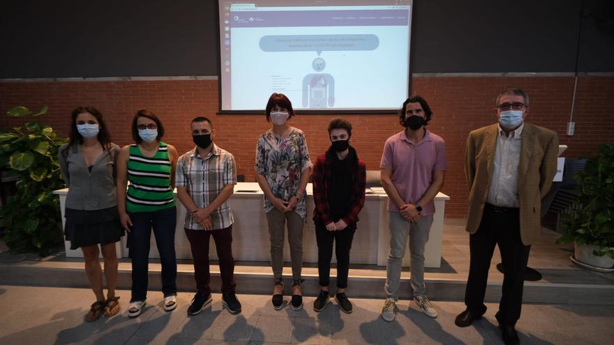 Salut Empordà i l'Institut Cendrassos creen una web amb exercicis de recuperació per a malalts de Covid