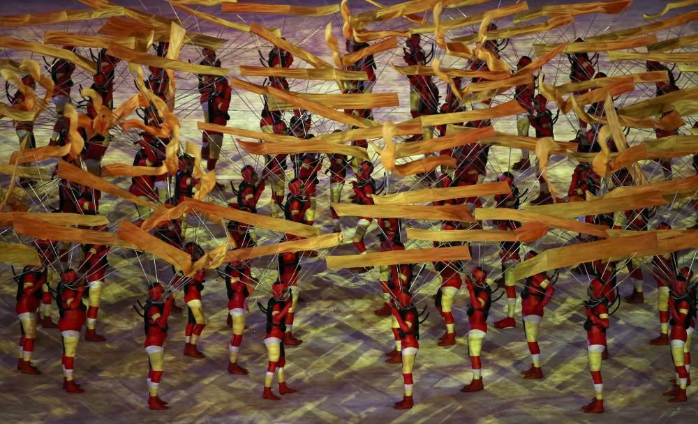 Olimpiadas Río 2016: Las imágenes de la ceremonia de clausura