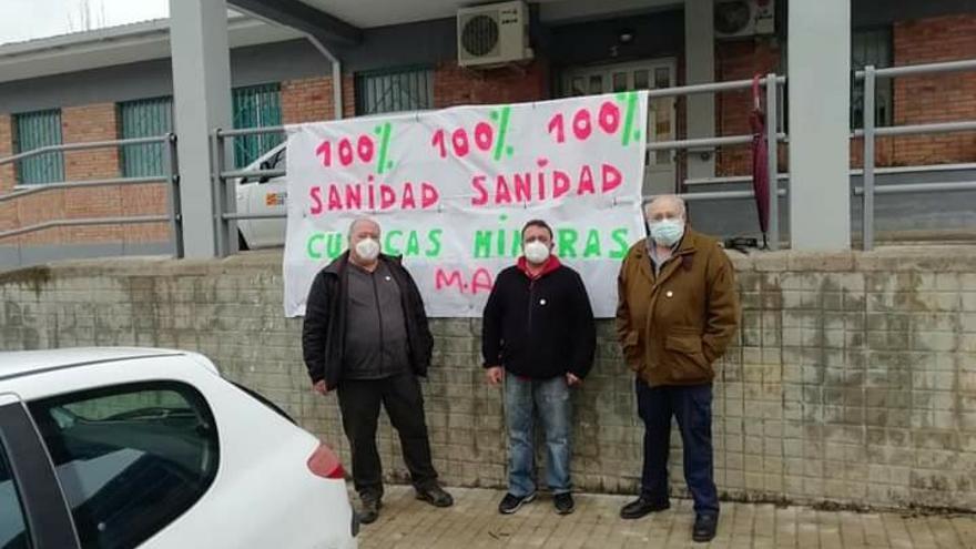 Las Cuencas Mineras se movilizan para pedir médicos