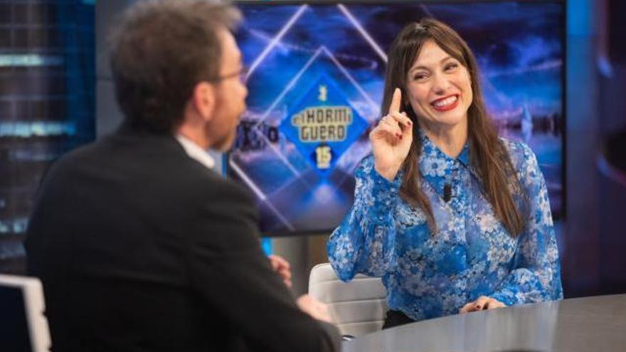Natalia Verbeke confiesa su desconocida y sorprendente obsesión en 'El Hormiguero'